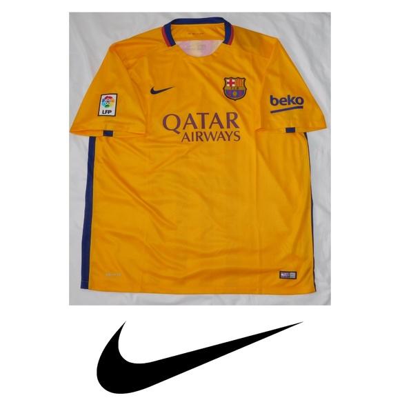 168fdc73a Nike FC Barcelona Away Soccer Jersey 2015 16
